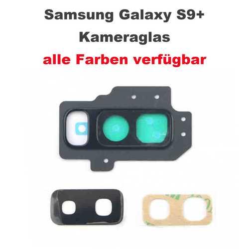 Lens (Glas) for Kamera (back) with frame suitable for Samsung Galaxy S9+ G965F – Bild 1