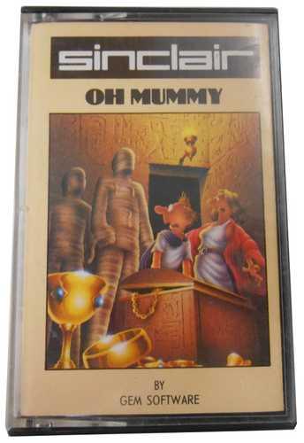 Sinclair ZX Spectrum Oh Mummy