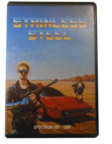 Sinclair ZX Spectrum Stainless Steel