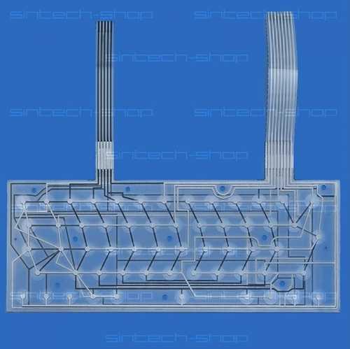 Tastaturfolie / Keyboard membrane für Spectrum 128/48 Plus