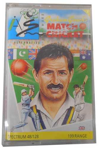 Sinclair ZX Spectrum Graham Gooch's Match Cricket