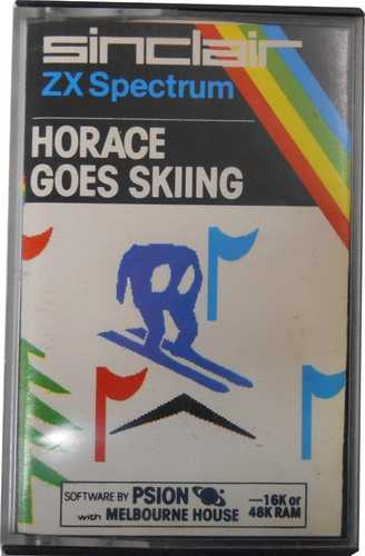 Sinclair ZX Spectrum Horace goes skiing
