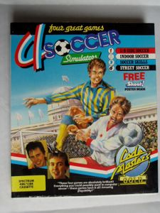 Sinclair ZX Spectrum - 4 Soccer Simulator