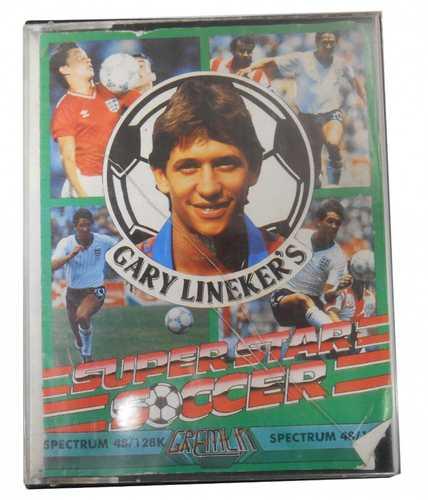 Sinclair ZX Spectrum Gary Lineker's Super Star Soccer