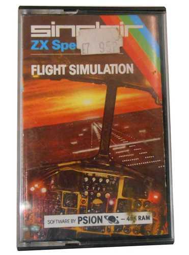 Sinclair ZX Spectrum Flight Simulation