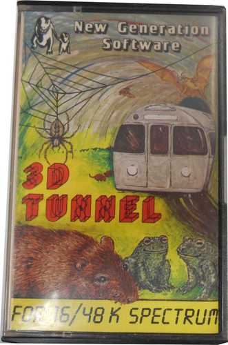 Sinclair ZX Spectrum 3D Tunnel