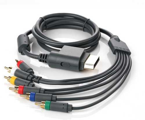 Component HD AV cable for XBox360