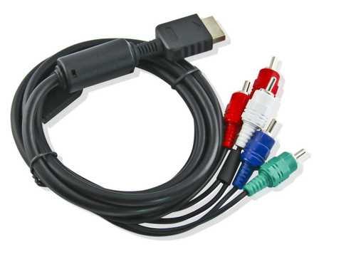 Komponent Kabel / Component Cable für PS2 und PS3 Kabellänge 1,40 m – Bild 2