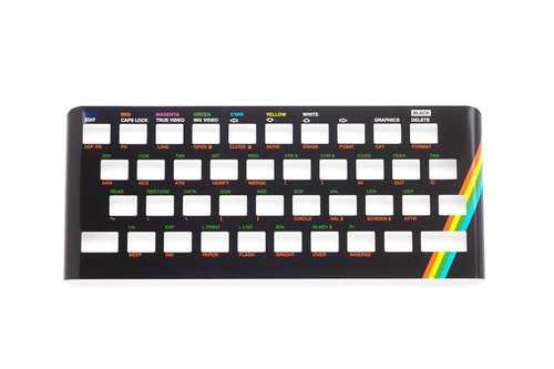 Oberseite Faceplate aus Metall für Sinclair ZX Spectrum 16/48k – Bild 2