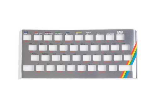 Oberseite Faceplate aus Metall für Sinclair ZX Spectrum 16/48k – Bild 8