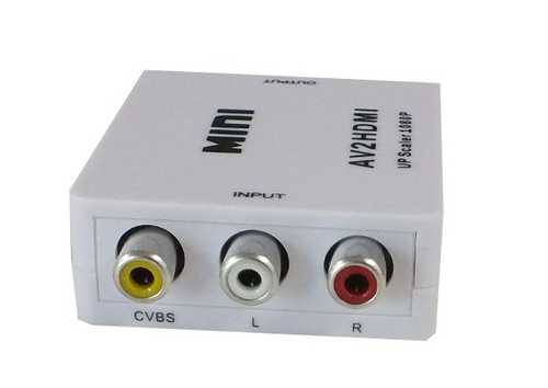 Mini AV Composite to HDMI Converter – Bild 2