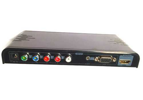 PRO VGA + Component Video (YPbPr) to HDMI Converter – Bild 2