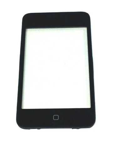 Premium Touchscreen für iPod Touch 3G + Rahmen + Home Button montiert