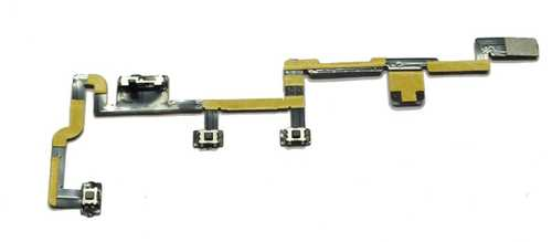Power On Off Switch Mute Volume Button Key Flex Cable for Apple iPad 2 Part-No. 821-1151-A