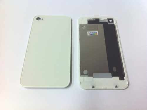 Back cover for iPhone 4S, white