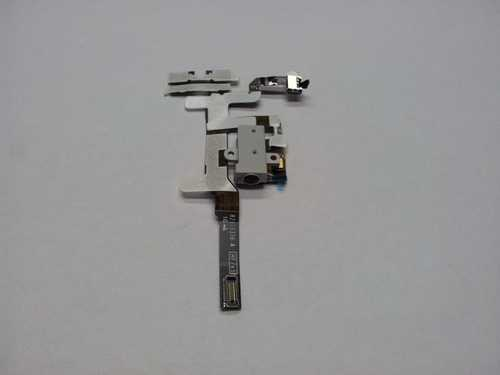 Headphone Jack with flex for iPhone 4S white