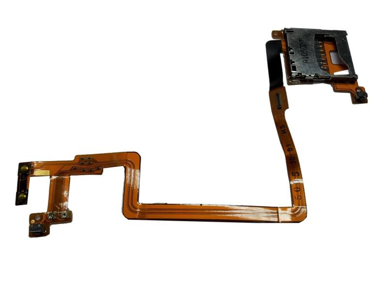 sd karten slot f r nintendo ndsi schacht sockel mit l r. Black Bedroom Furniture Sets. Home Design Ideas