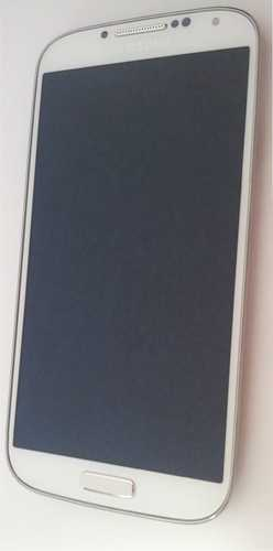Samsung I9505 Galaxy S4 Display unit with frame in white