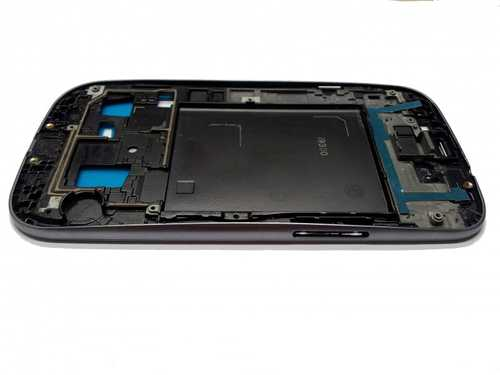 Front frame for Samsung Galaxy S3  i9300 silver