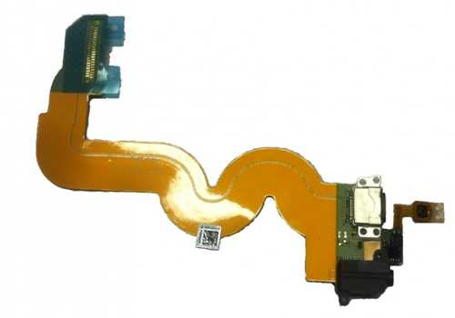 Docking Port / Charging Port Flex Cable with headphone jack for iPod Touch 5G
