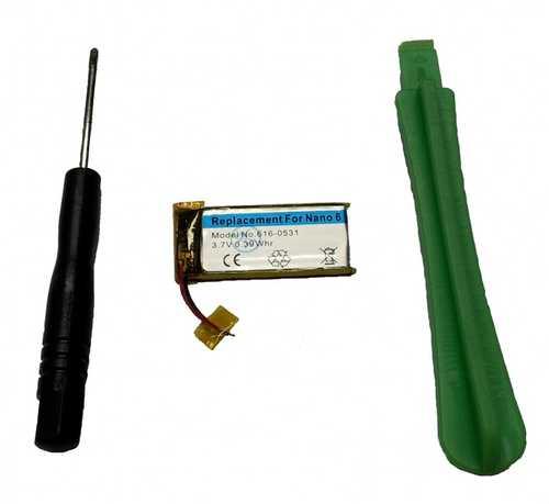 Batterie mit Werkzeug für iPod Nano 6G
