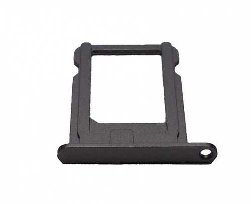 Nano Sim card holder for iPhone 5S black