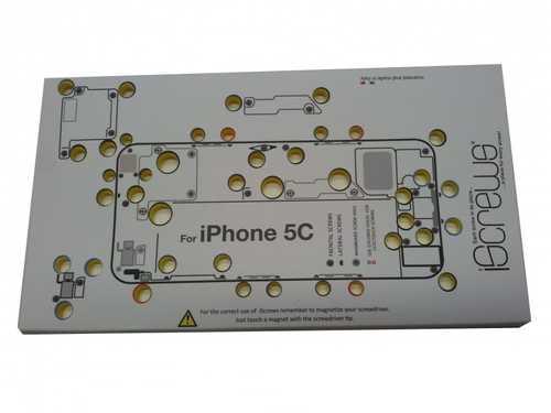 iScrews iPhone 5C Schraubenaufbewahrung für Profis – Bild 2