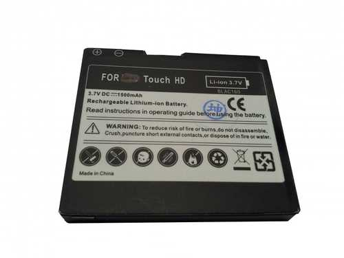 Battery for HTC Touch HD / Pro HD  / Blackstone BLAC 160