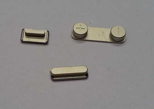 Button set (volume, mute and power button) gold for golden iPhone 5S