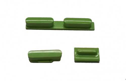 Button set in green colour(volume, mute and power button) for iPhone 5C