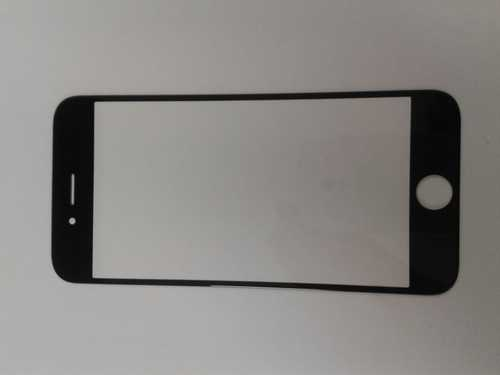 Frontscheibe in schwarz für iPhone 6