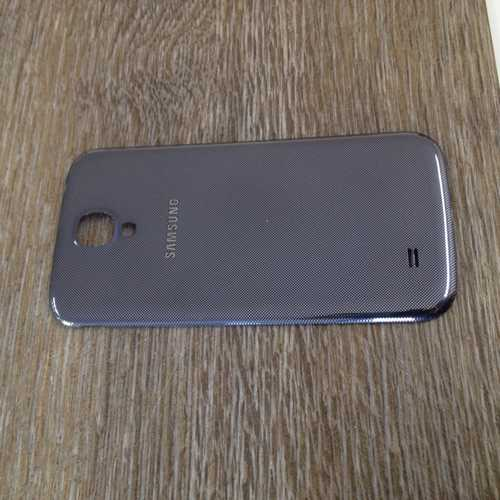 Gebrauchter Akkudeckel für Samsung Galaxy S4 i9500 / i9505 in schwarz Batterie Abdeckung