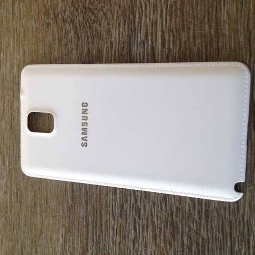Used Battery cover white for Samsung Galaxy Note 3 N9000 / N9005