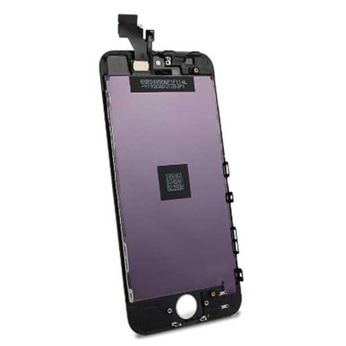 Common quality LCD Digitizer Touch pad with Front panel Glass Cover for iPhone 5 black – Bild 4