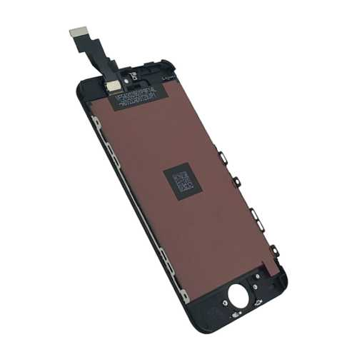 Common quality LCD Digitizer Touch pad with Front panel Glass Cover for iPhone 5S black – Bild 3