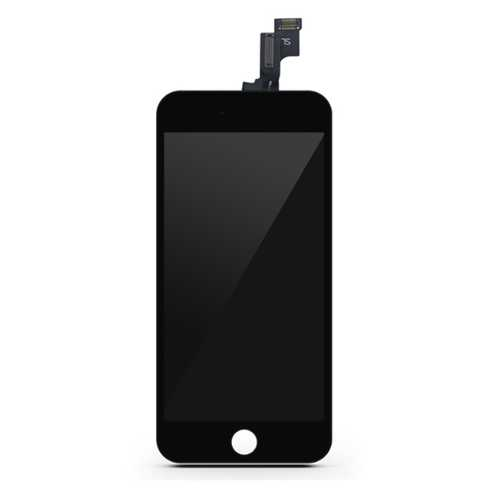 Common quality LCD Digitizer Touch pad with Front panel Glass Cover for iPhone 5S black – Bild 1