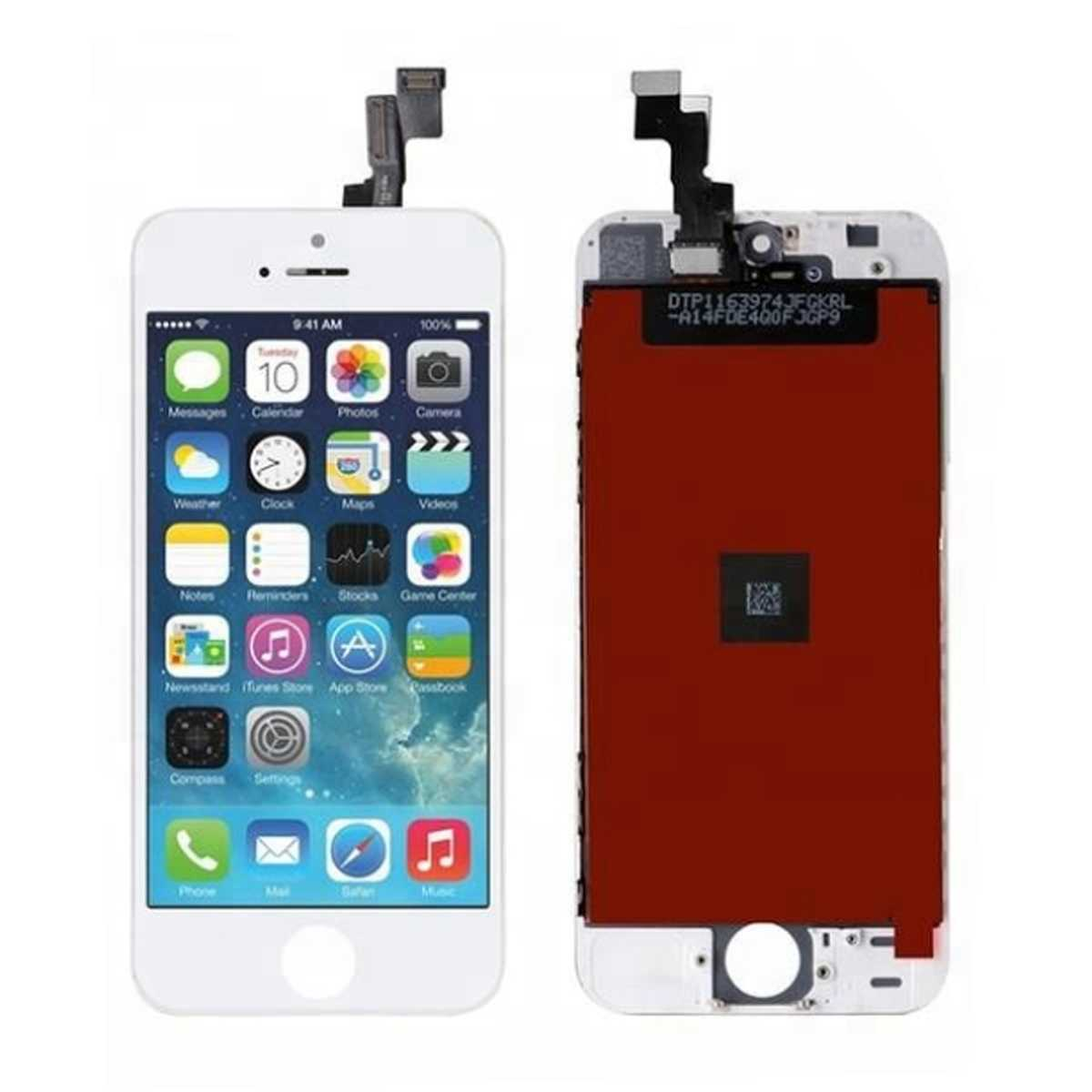 official photos 4be72 81d81 Common quality LCD Digitizer Touch pad with Front panel Glass Cover for  iPhone 5S white