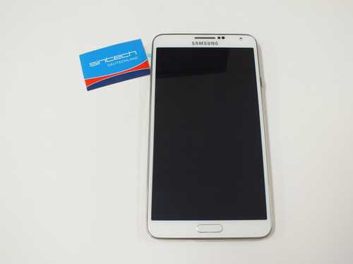 Samsung N9005 Note 3 Display unit with frame in white