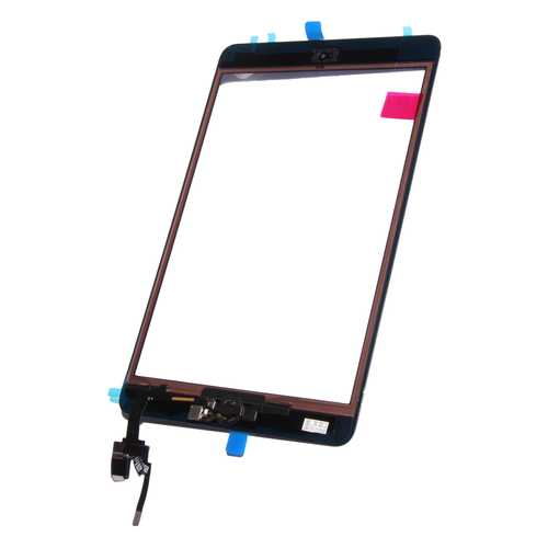 Digitizer Touch pad with Front panel Glass Cover for iPad Mini 3, black. OEM-quality, with IC Chip connector – Bild 2