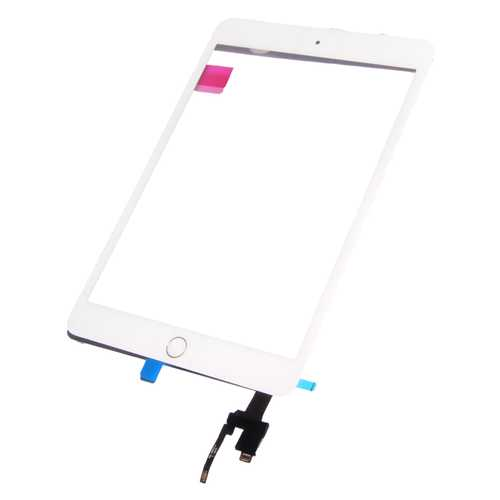 SINTECH© Premium Digitizer Touch pad with Front panel Glass Cover for iPad Mini 3, black. OEM-quality, with IC Chip Connector – Bild 1