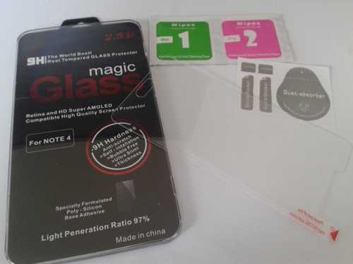 Tempered glas / Burst screen safety glas 9H for Samsung Galaxy Note 4
