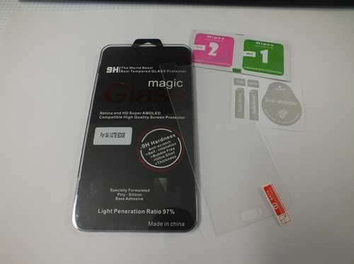 Panzer Schutzfolie / Display-Schutzglas 9H für Samsung Galaxy Note Edge SINTECH© Premium Qualität