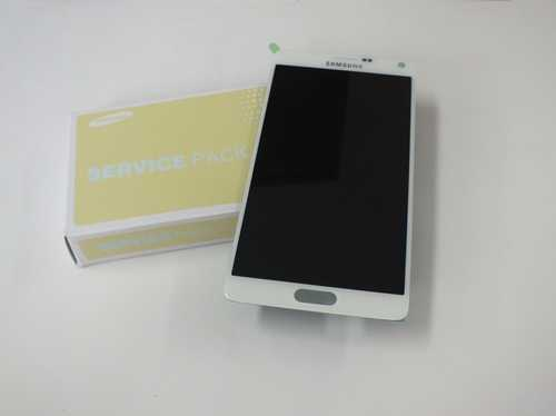 Samsung N910F Note 4 Display unit in white GH97-16565A