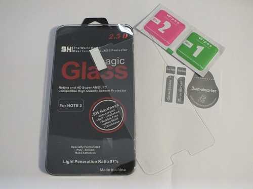 Panzer Schutzfolie / Display-Schutzglas 9H für Samsung Galaxy Note 3 SINTECH© Premium-Qualität