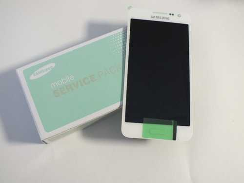 Display für Samsung Galaxy A3 SM-A300FU Touchscreen, LCD in weiß GH97-16747A