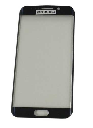 Samsung Galaxy S6 Edge G925f black Front Glass (LCD Display and Touch Screen not included) – Bild 1