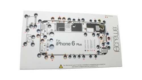 iScrews iPhone 6+ Schraubenaufbewahrung für Profis – Bild 2