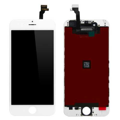 Standard Display Einheit für iPhone 6+ plus weiß komplett LCD Bildschirm – Bild 1