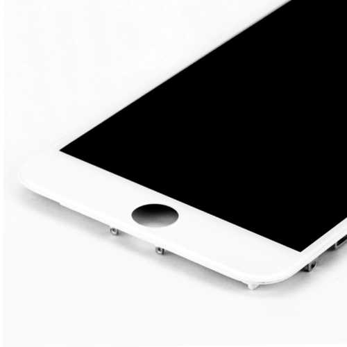 Common quality LCD Digitizer Touch pad with Front panel Glass Cover for iPhone 6+ white – Bild 4