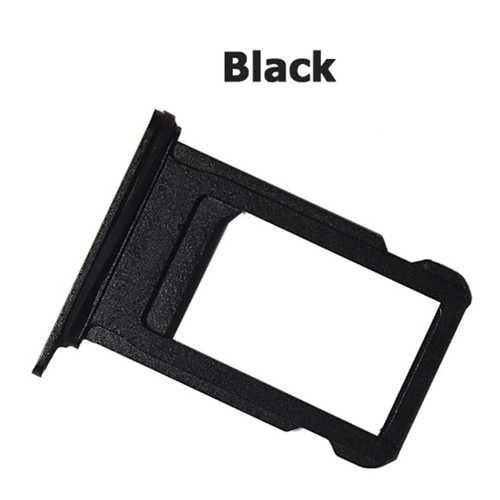 Nano Sim card holder for iPhone 7 black